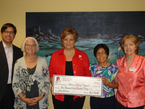 $1,430.75 Donated to the Austin Women Rising Project and $1,430.00 Donated to SAHELI on behalf of Julie Johnson