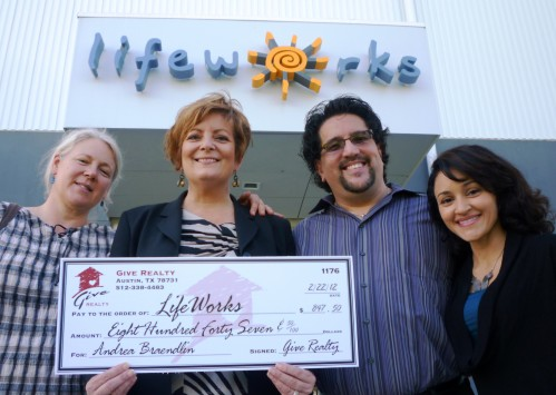 $847.50 Donated to LifeWorks on Behalf of Andrea Braendlin