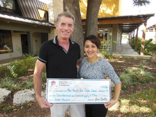 $1,650.00 Donated to The Trust for Public Land on Behalf of Peter Magaro
