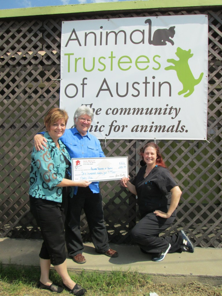 Hill Donations to Animal Trustees of Austin 2.1