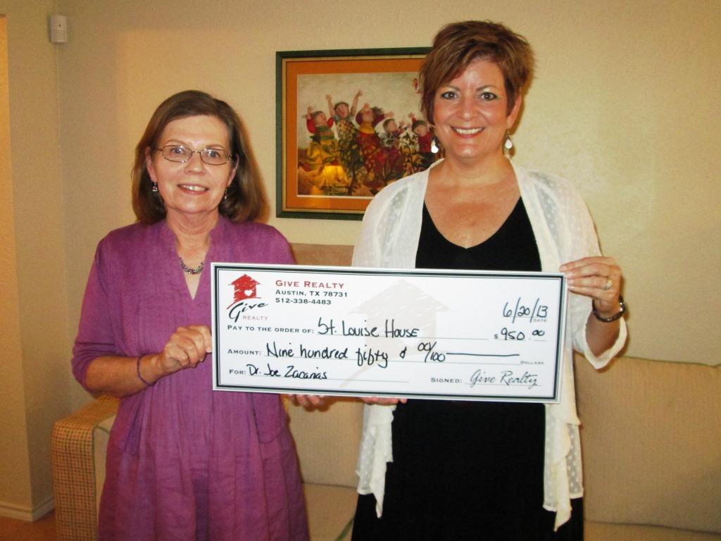 Zacarias Saint Louise House Donation 002