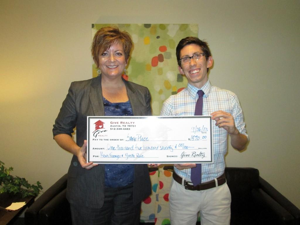 Freemeyer SafePlace Donation