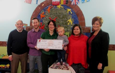Great $1,570.00 Donated To Open Door Preschools On Behalf Of Ashley And Scott  Phillips.
