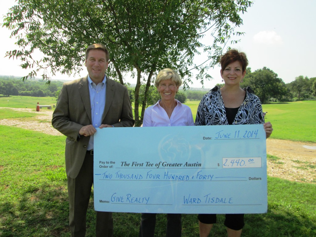 Tisdale First Tee Donation