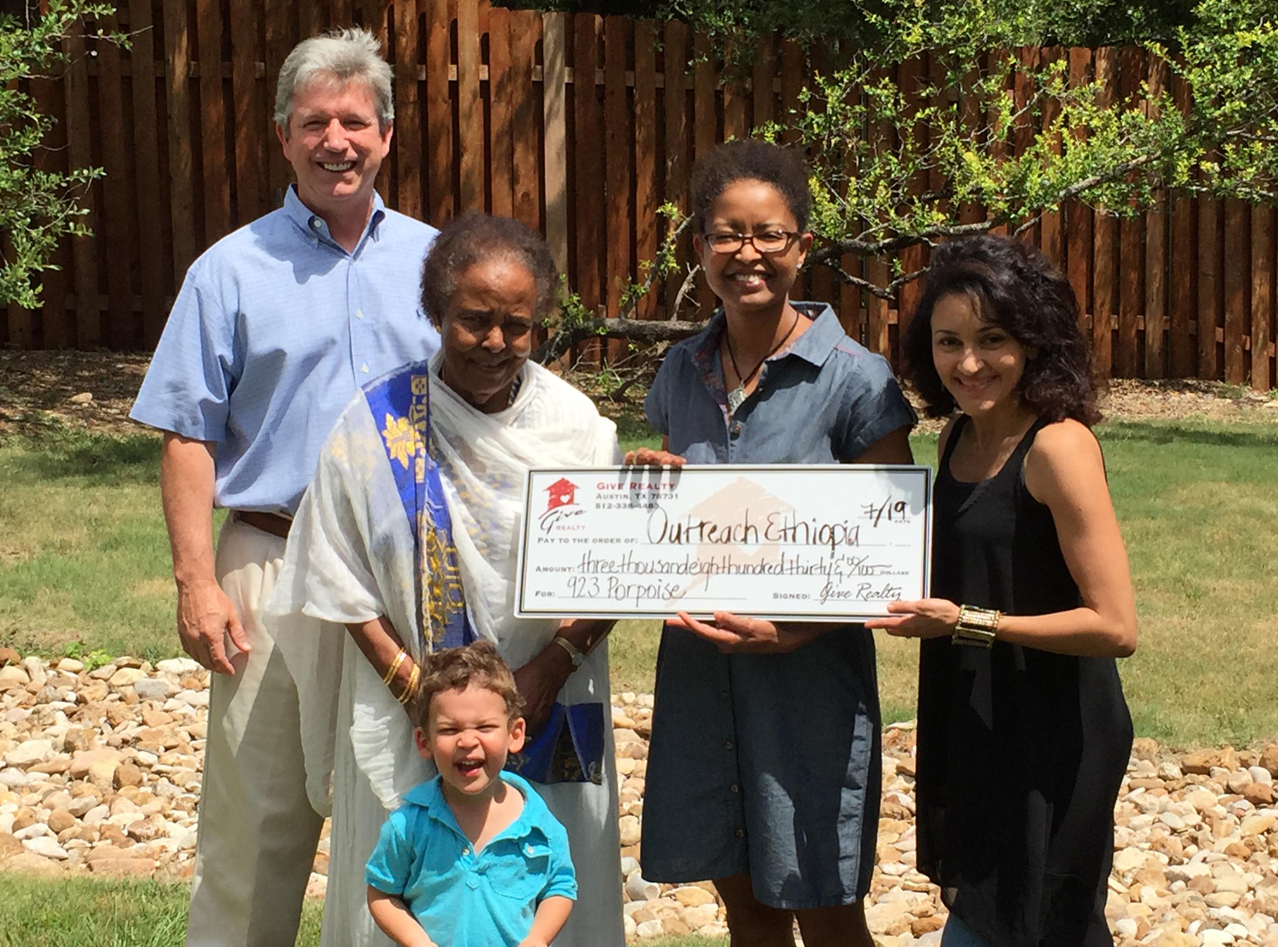 Outreach Ethiopia Donation