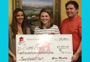$5,223.75 Donated to Foster Angels