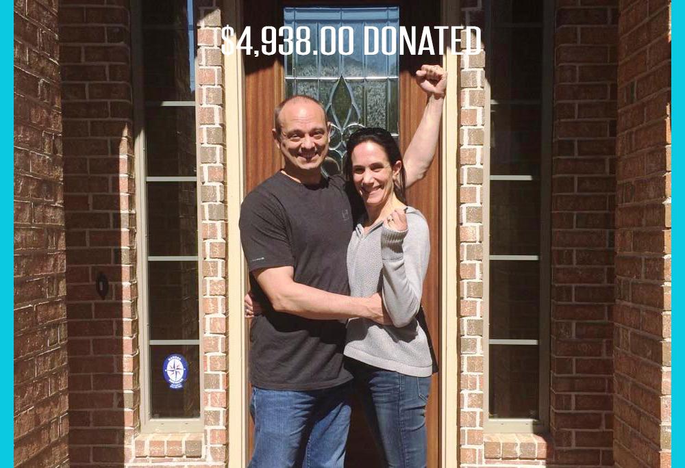 $4,938.00 donated